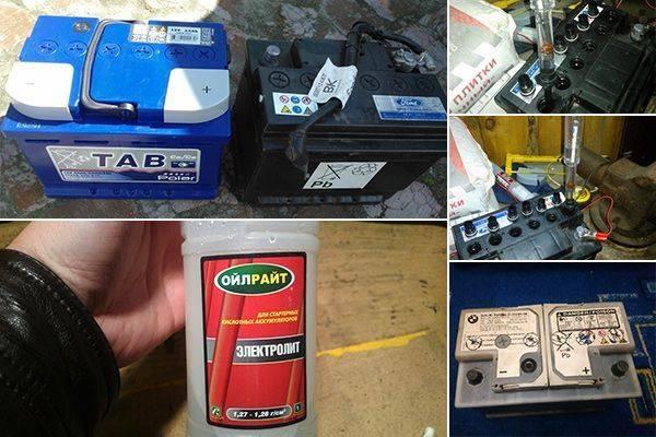 Как заменить электролит: полная замена, доливка в необслуживаемый аккумулятор, когда доливать воду