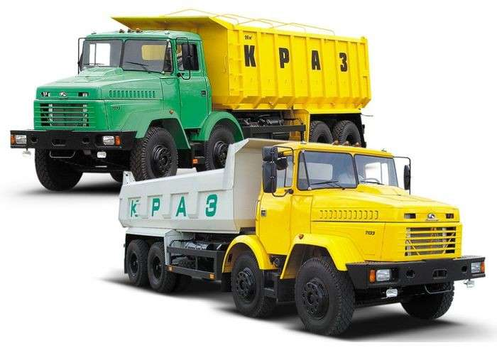 Как разгоняется грузовик краз