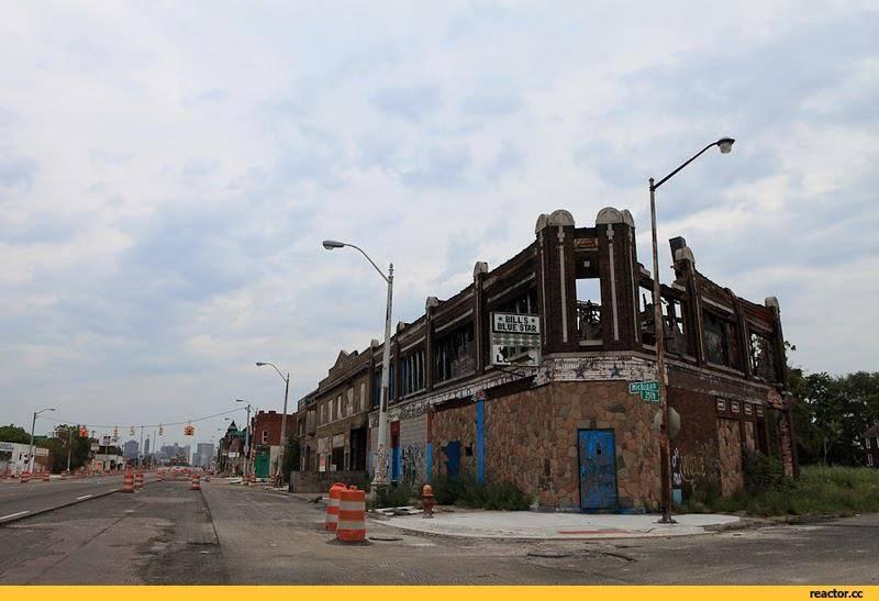 Город-призрак детройт: что с ним случилось?