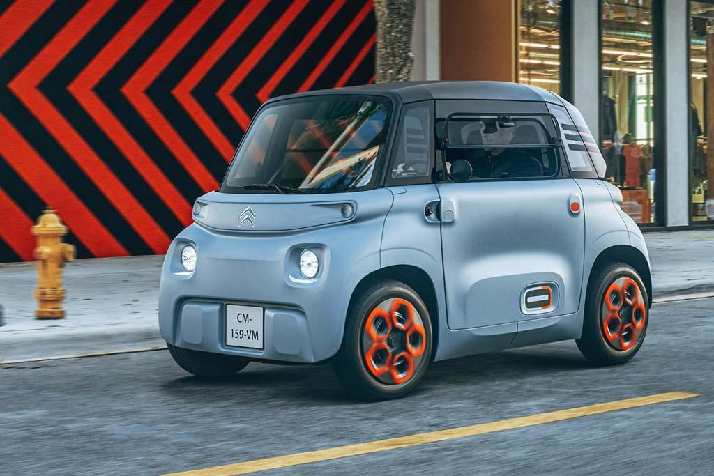 Citroen Ami – электромобиль, который можно приобрести в Интернет магазине с доставкой на дом