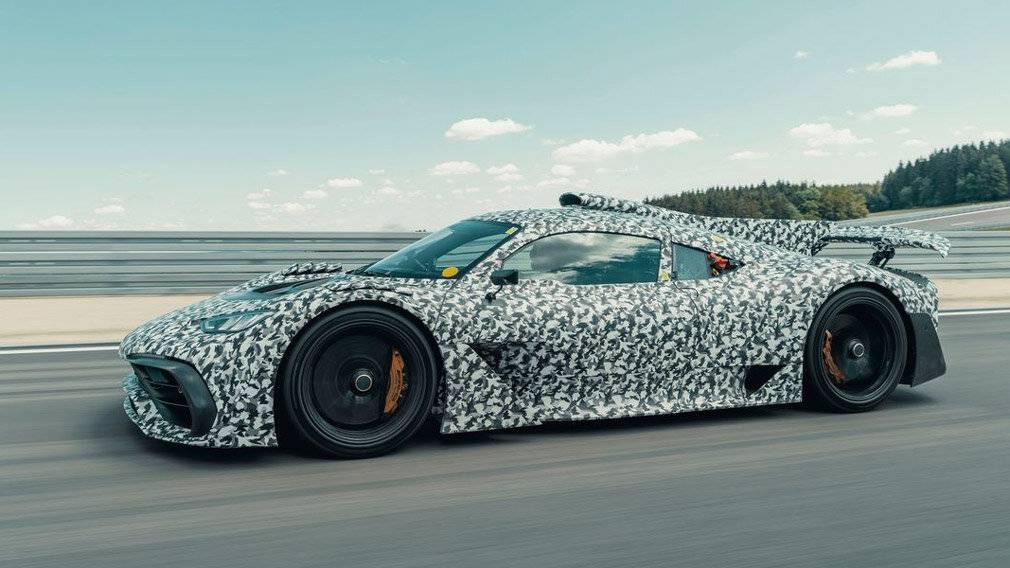 Мерседес готовится к выпуску нового гиперкара AMG Project One за 2 миллиона евро