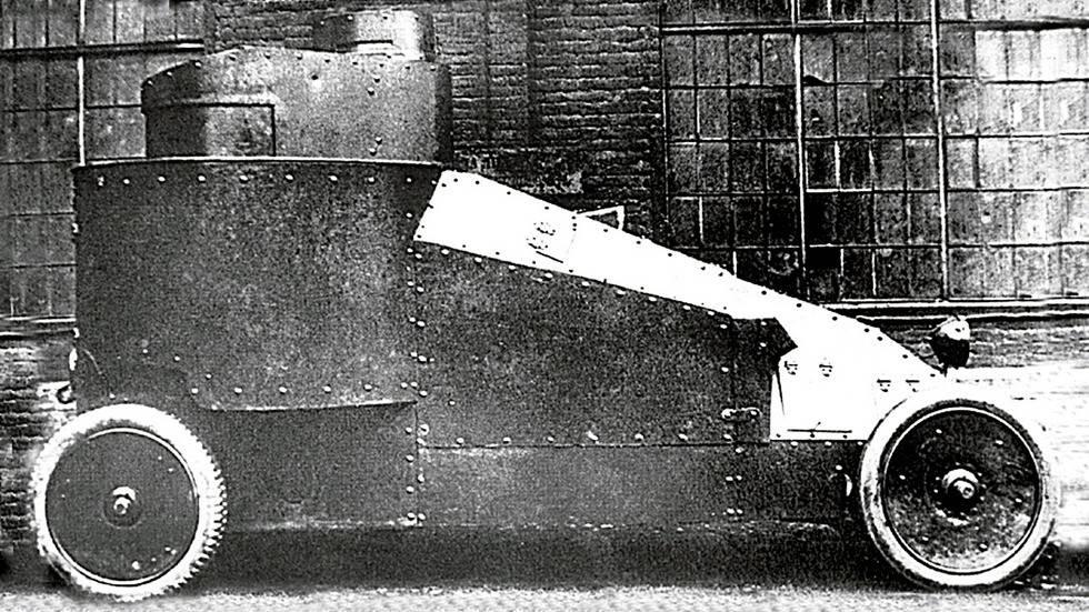 Бронетехника белой гвардии. башенные и безбашенные: русские броневики первой мировой иностранные бронемашины в царской армии
