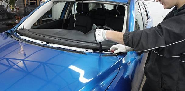 Как происходит замена стекол на авто