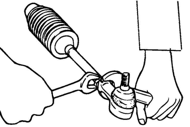 Замена наконечника рулевой тяги ваз 2101 - 2107 | ▼ о ладе ▼