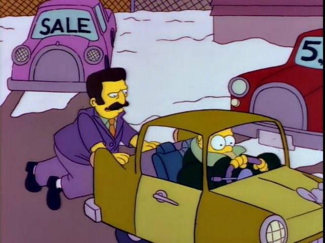 Гомер симпсон сидит на машине. cимпсономания: пять жутких автомобилей, которые мог придумать только гомер симпсон