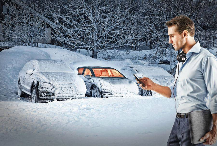 Какой электрический датчик влияет на запуск двигателя автомобиля зимой?