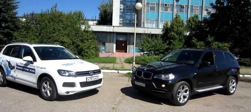 Нелегкое решение: BMW X5 II или VW Touareg I