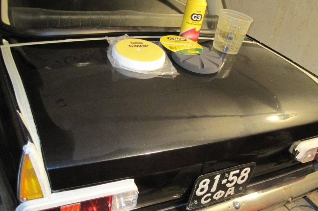 Как правильно полировать машину вручную