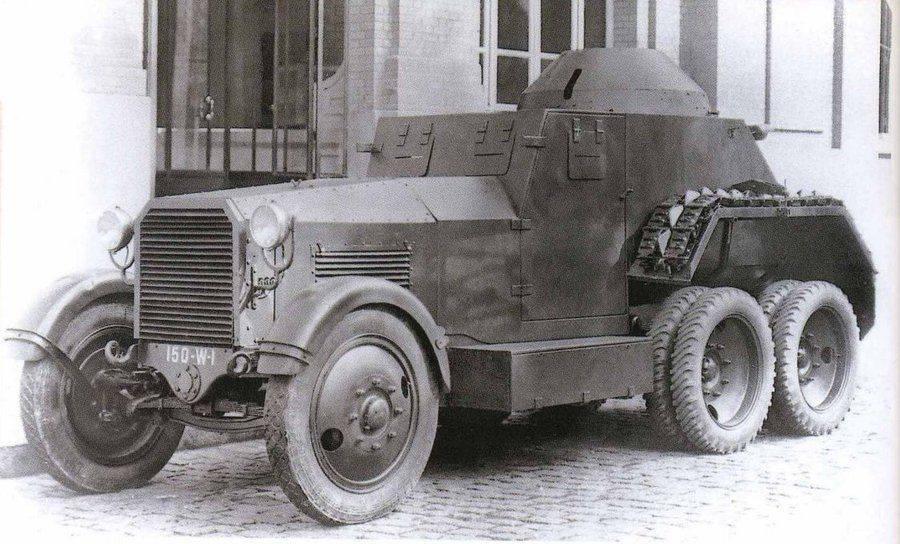 Первые военные автомобили царской россии