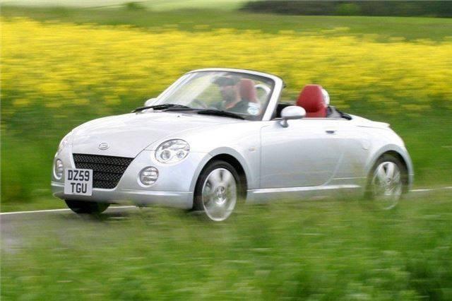Тест-драйв  daihatsu  copen: обзор автомобиля daihatsu copen