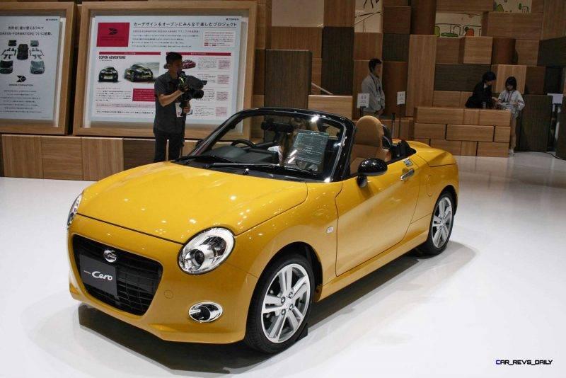 Daihatsu «модернизировала» кабриолет copen