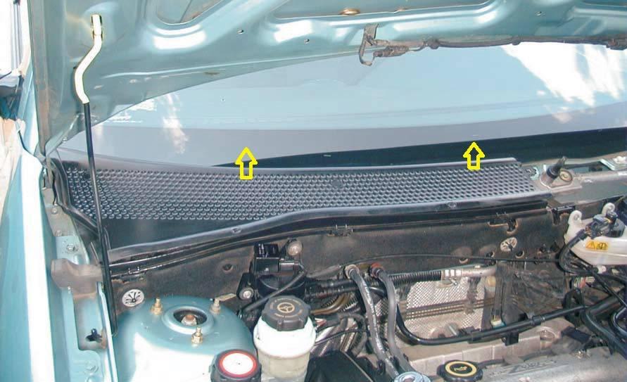 Замена салонного фильтра на форде фокус 3