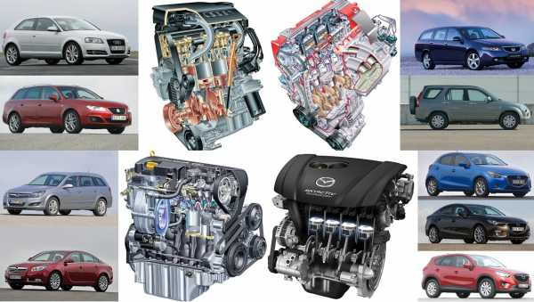 Двигатели миллионники: список автомобилей   самые надежные двс легковых авто