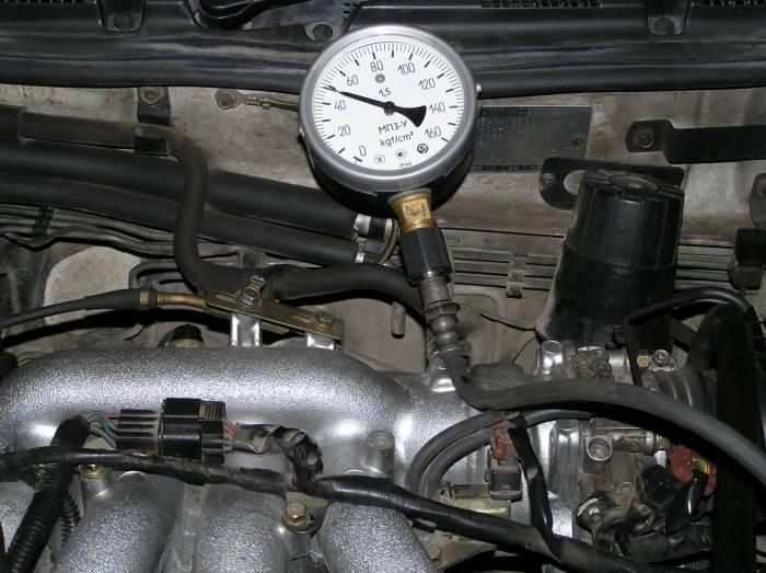 Низкое давление масла в двигателе на холостых
