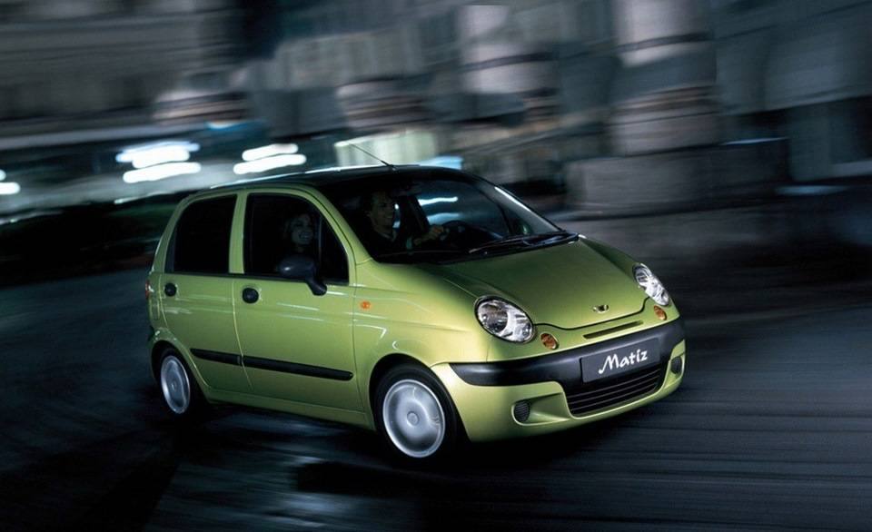 Daewoo Matiz стал самой популярной малолитражкой в апреле