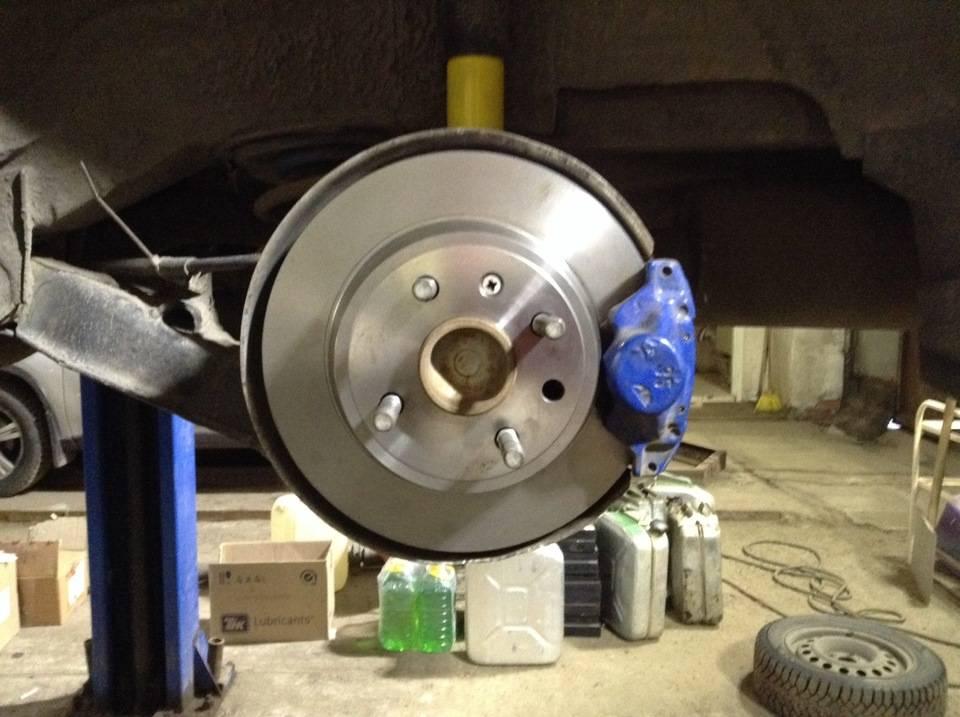 Замена тормозных дисков ланос, пошаговая инструкция, выбор, подбор инструмента