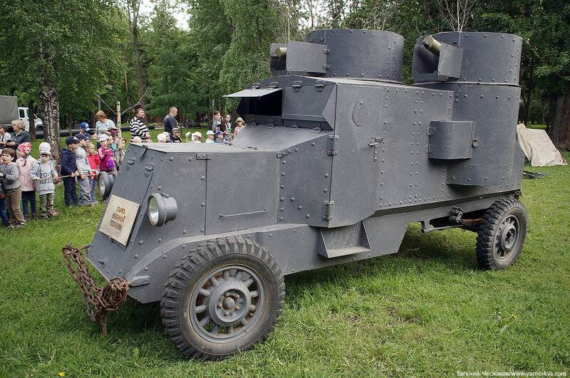 Русские броневики первой мировой - альтернативная история
