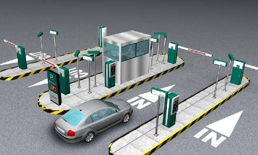 Описание и принцип работы системы автоматической парковки