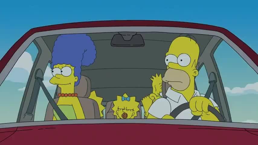 Реальные прототипы машин из «симпсонов»&nbsp. cимпсономания: пять жутких автомобилей, которые мог придумать только гомер симпсон гомер симпсон сидит на машине