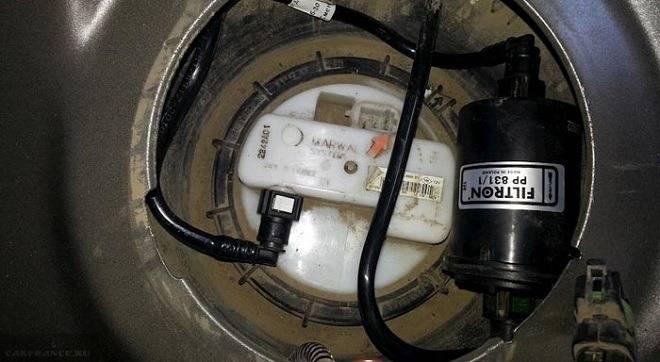 Выбор и замена топливного фильтра рено дастер