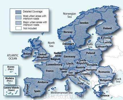 Навител выпускает в продажу карты стран восточной европы - 4pda
