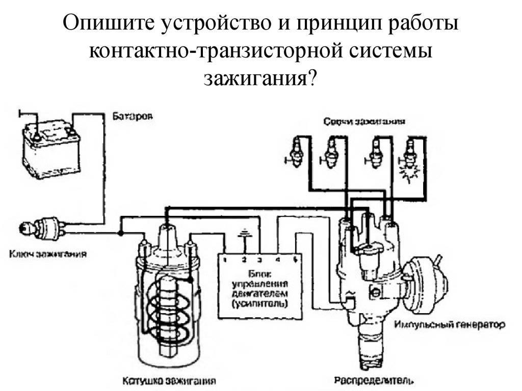 Система электрооборудования автомобиля