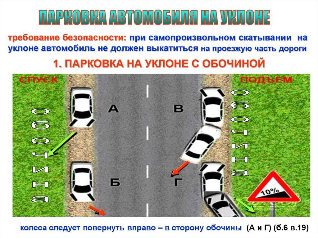 Как работает парковка на акпп