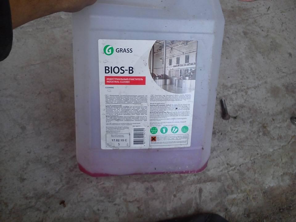 Жидкость для промывки сажевого фильтра дизельного двигателя