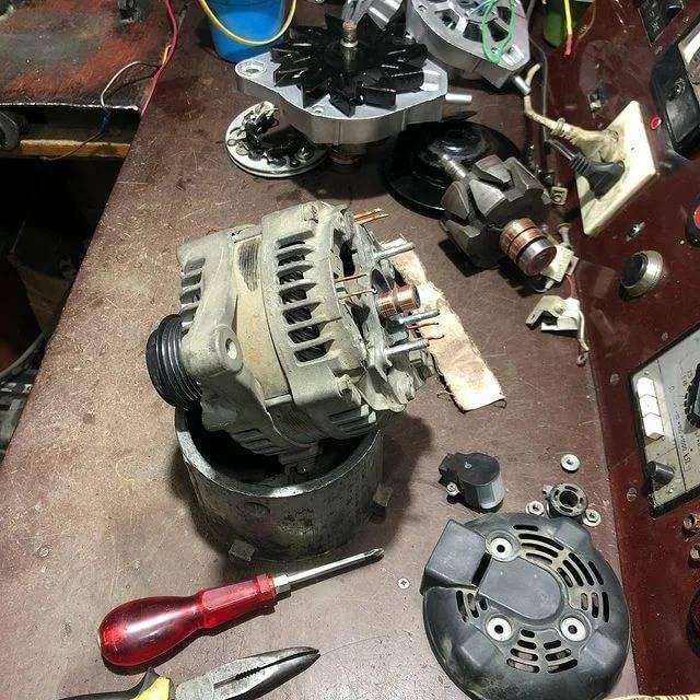 Проведение ремонта генератора своими руками