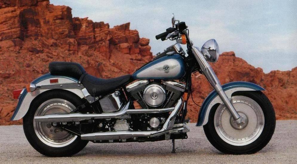 Harley-davidson flstf fat boy 1990: мотоцикл терминатора, подорожавший в 50 раз