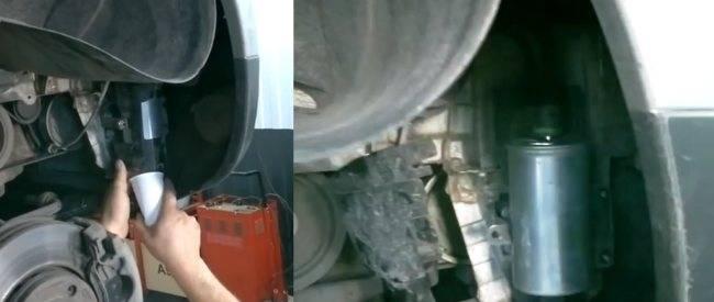 Топливный фильтр на рено дастер: расположение, причины