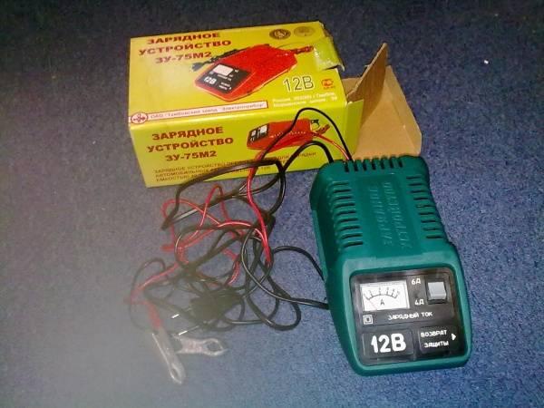 Правильная зарядка аккумулятора автомобиля при помощи зарядного устройства
