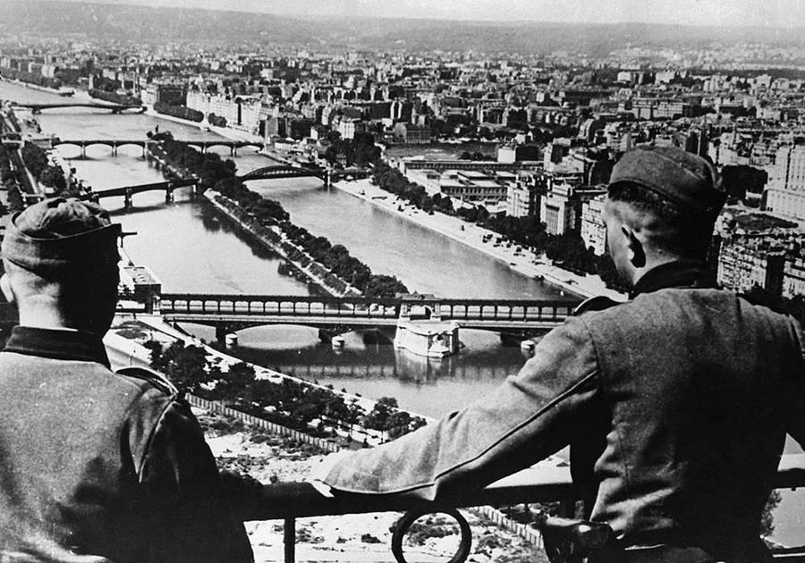 Жизнь во франции (париже) во время оккупации фашистами (вторая мировая война). освобожденная франция, или «cherchez la femme»
