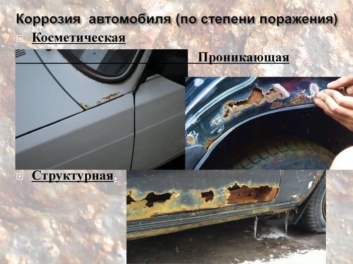 Как избавиться от ржавчины: рецепты восстановления кузова автомобиля
