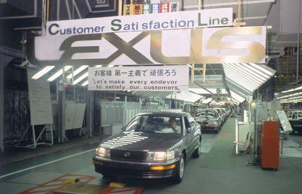 История японского автопрома 90-х годов