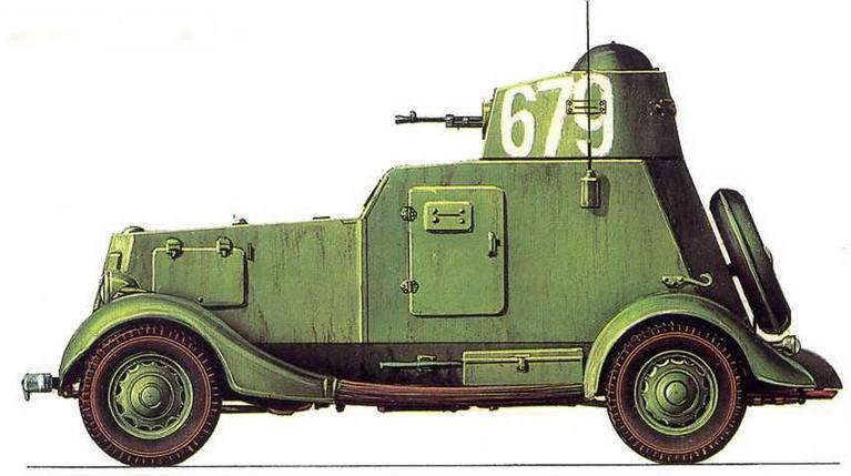 Бронированный «иван-виллис» — ба-64