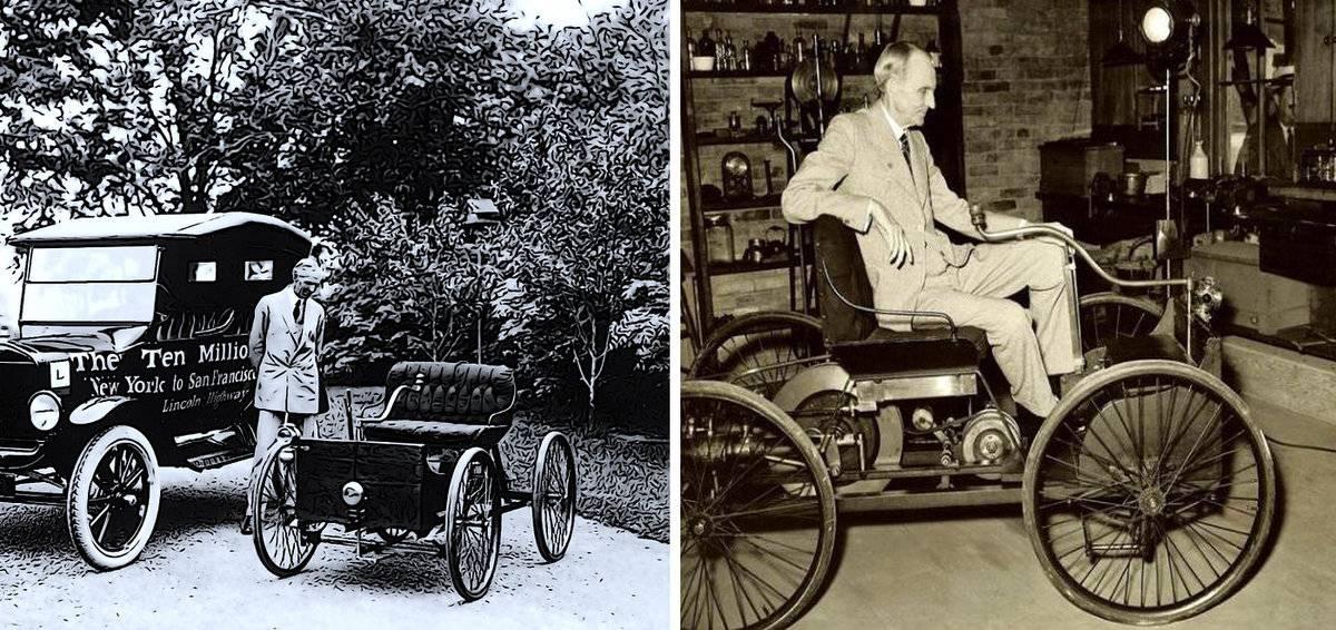 История марки ford с 1903 года