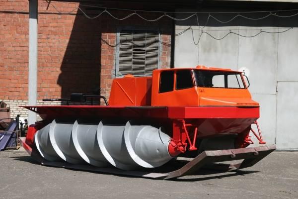 Pipl • 1 мая 1972 года построен шнекоход зил-4904 – самый большой