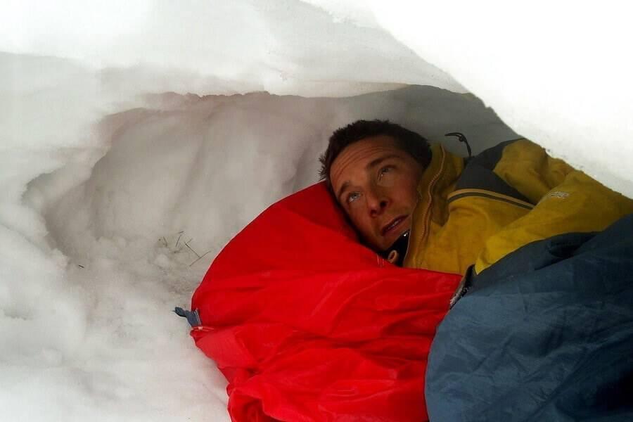 Если снежный буран застал в тайге как спастись