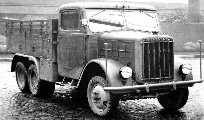 Škoda 706r – первый послевоенный грузовик знаменитой марки