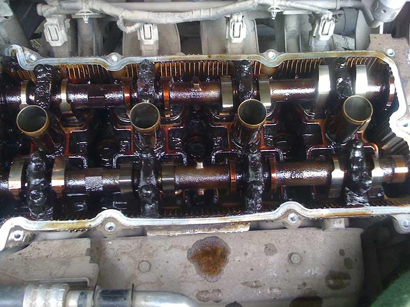 Дизельное масло в бензиновый двигатель - последствия и отзывы