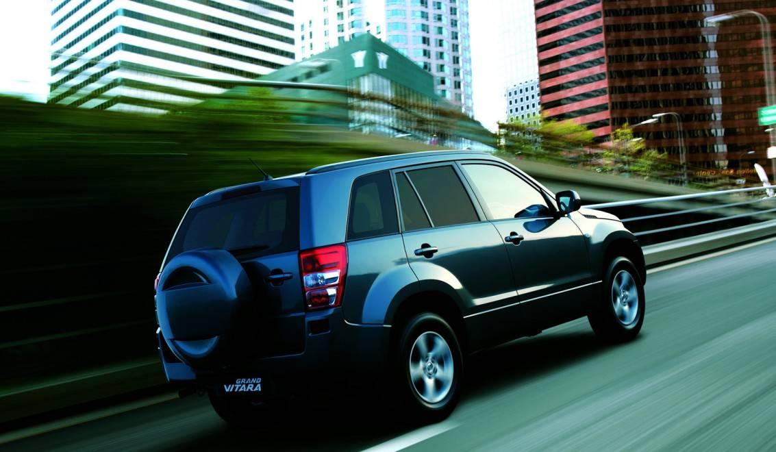 Кто застрянет первым: Nissan X-Trail II или Suzuki Grand Vitara III