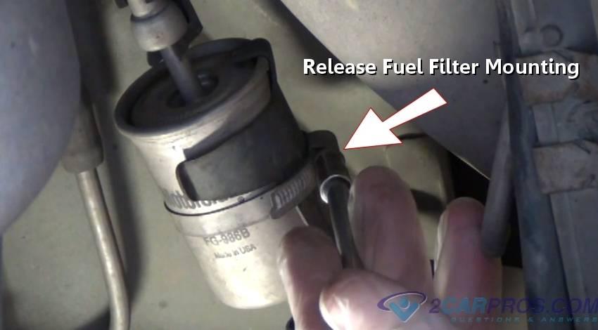 Замена топливного фильтра на форд фокус 1, 2, 3