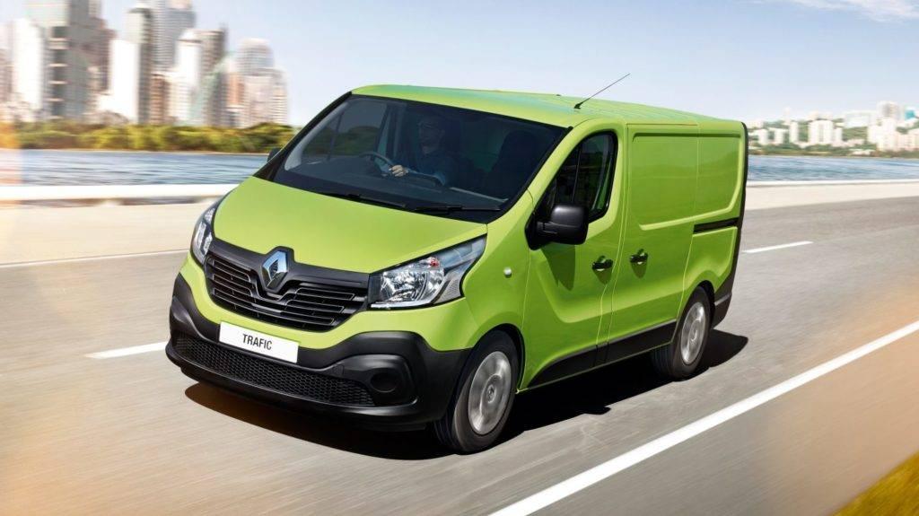 Renault trafic технические характеристики, двигатель и расход топлива, размеры