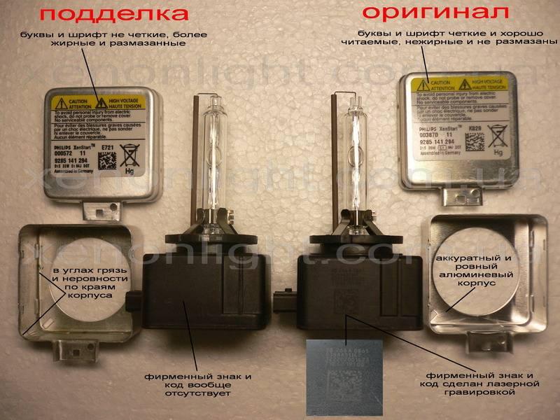 Как проверить на подлинность автомобильные лампы osram, philips и narva
