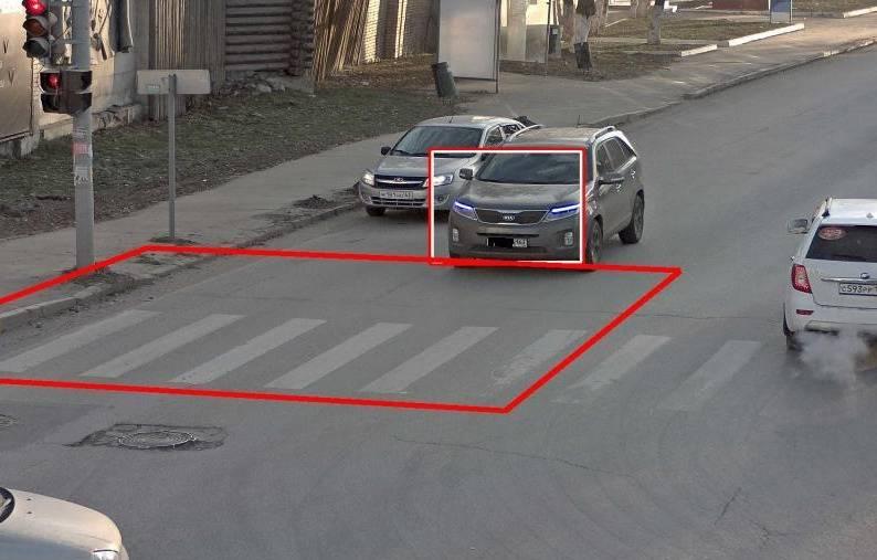 Может ли инспектор оштрафовать за пересечение разметки, которой не видно?