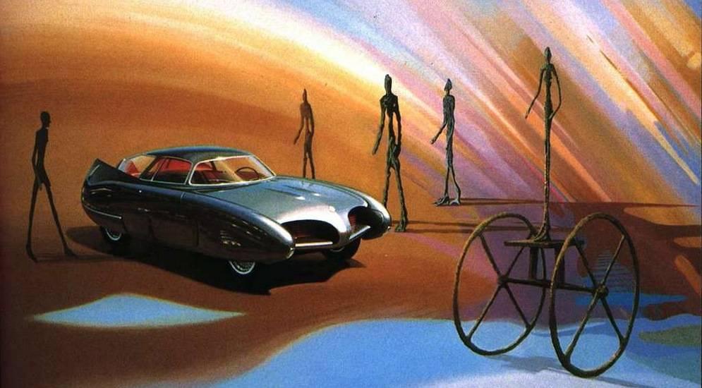 Концепты alfa romeo bat могли бы стать идеальными автомобилями для бэтмена   carakoom.com