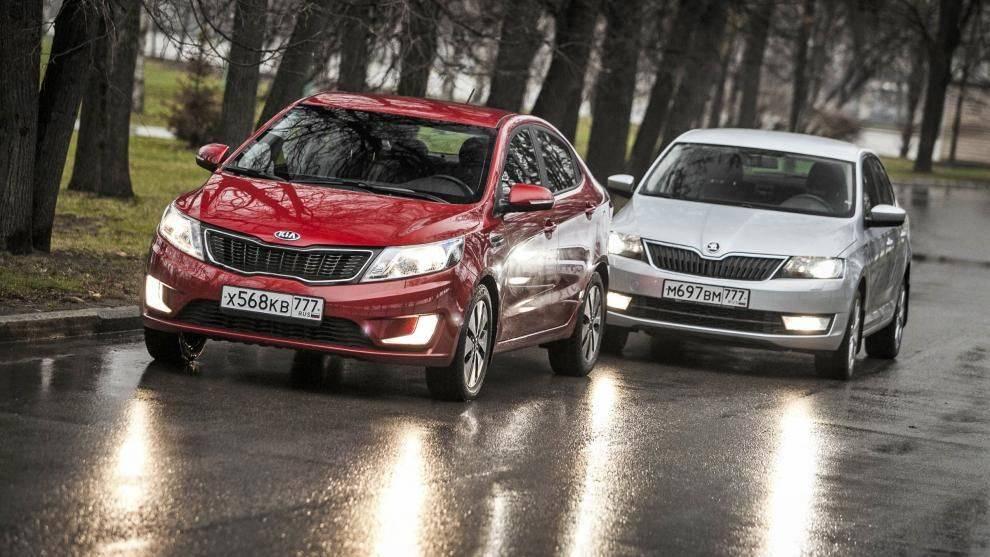 Бюджетный выбор: Hyundai Solaris I против Skoda Rapid I