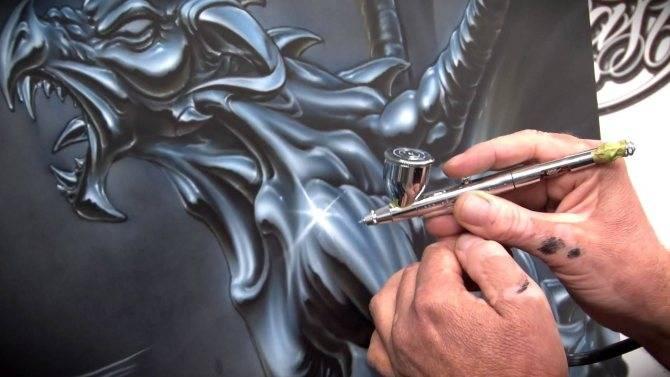 Как пользоваться аэрографом: как работать, рисовать, настроить, красить сколы автомобиля своими руками, использование, какое давление нужно