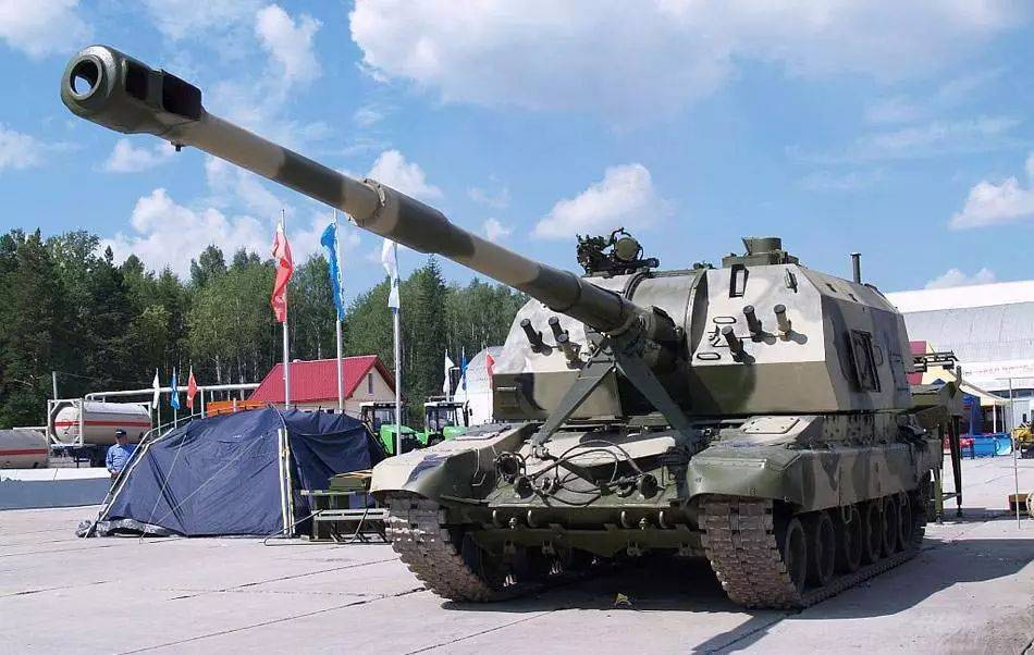 Самоходная артиллерийская установка «мста-с» 2с19: ттх и устройство